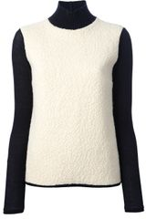 Balenciaga High-necked Sweater - Lyst