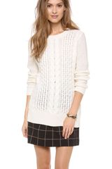 Club Monaco Casey Sweater - Lyst