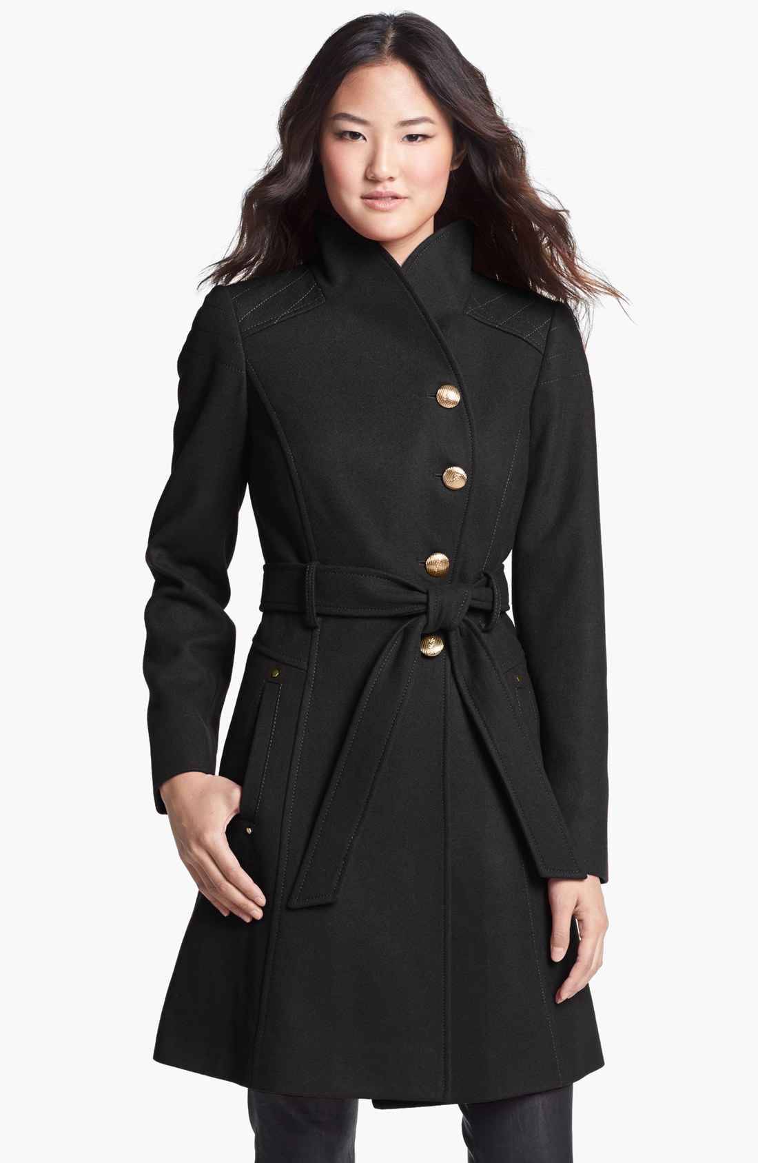 Shop for BLACK GREY 2XL Hooded Belted Wool Blend Coat online at $ and discover fashion at ditilink.gq Cheapest and Latest women & men fashion site including categories such as dresses, shoes, bags and jewelry with free shipping all over the world.