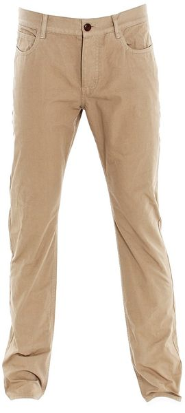 Nicole Farhi Military Gab Trousers Chino - Lyst