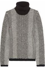 Roberto Cavalli Embellished Wool Turtleneck Sweater - Lyst
