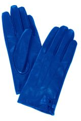 Stefanel Leather Gloves - Lyst