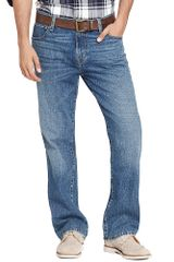 Tommy Hilfiger Authentic Wash Bootcut Jean - Lyst