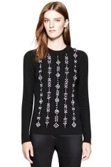Tory Burch Etta Sweater - Lyst