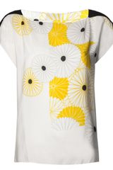Akira Placement Printed Top - Lyst