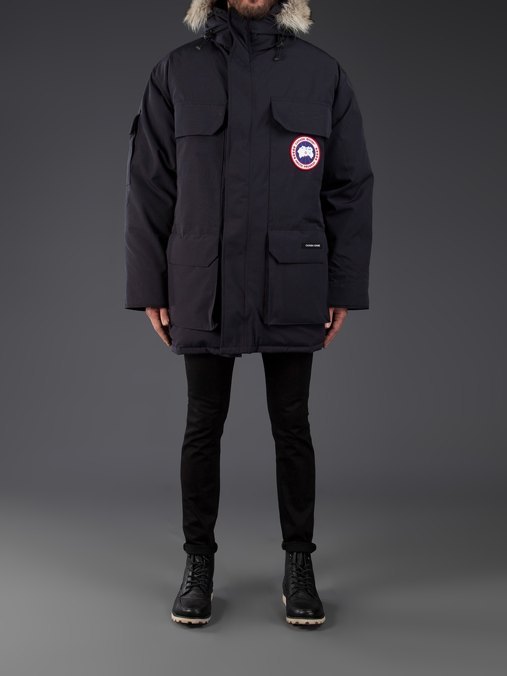 Canada Goose toronto replica fake - Canada goose 'expedition' Parka in Blue for Men | Lyst