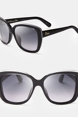 Dior Oversized Cat Eye Sunglasses - Lyst