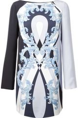 Emilio Pucci Printed Shift Dress - Lyst
