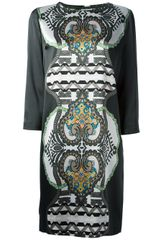 Etro Patterned Dress - Lyst
