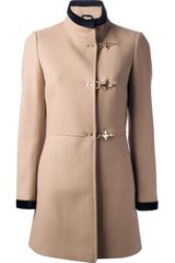 Fay Single Breasted Coat - Lyst