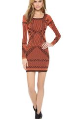 Free People Bella Coachella Intarsia Dress - Lyst