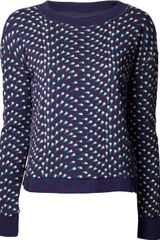 Girl. By Band Of Outsiders Tulip Sweater - Lyst