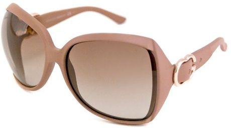 Gucci Womens Biobased Square Sunglasses in Brown (Black ...  |Gucci Sunglasses Women 2013