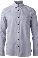 Hardy Amies Gingham Shirt - Lyst