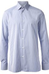 Hardy Amies Striped Shirt - Lyst