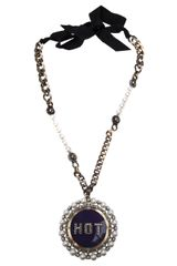 Lanvin Hot Necklace - Lyst