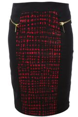 Michael by Michael Kors Fitted Skirt - Lyst