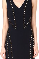 Michael Kors Studded Dress - Lyst