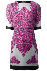 Milly Printed Dress - Lyst
