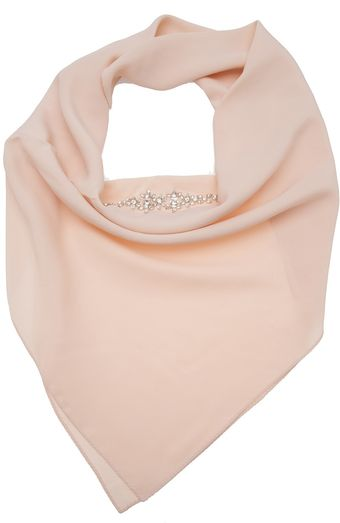 N° 21 Sequin Embroidered Scarf - Lyst