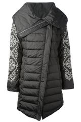 Odd Molly Upside Down Padded Coat - Lyst