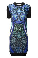 Peter Pilotto Alice Fine Knit Dress - Lyst