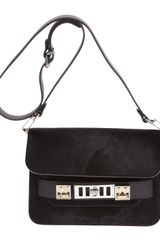 Proenza Schouler Ps11 Mini Classic Pony Lux Shoulder Bag - Lyst