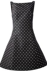 Ralph Lauren Black Label Polka Dot Dress - Lyst