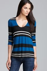 Splendid Tee Exclusive Tribeca Stripe - Lyst