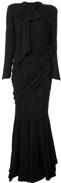 Thierry Mugler Evening Gown - Lyst