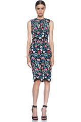 Valentino Sheath Dress - Lyst