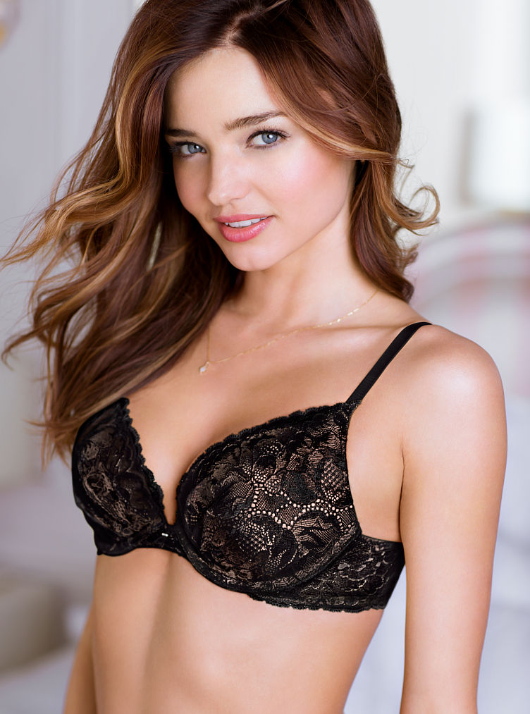 Victoria's secret Push Up Bra in Black (black lace)