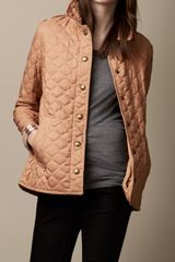 Burberry Military Quilt Jacket - Lyst