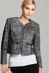 French Connection Jacket Velveteen Tweed - Lyst