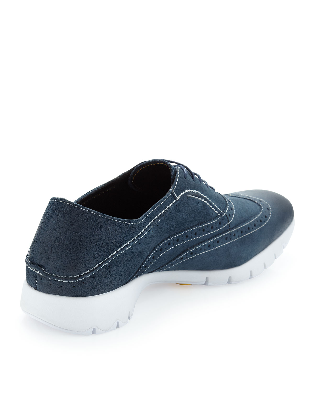 Hush Puppies Blue Suede Shoes