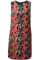 M Missoni Geometric Print Dress - Lyst