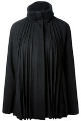 Maison Martin Margiela Pleated Roll Neck Sweater - Lyst