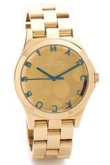 Marc By Marc Jacobs Henry Glossy Pop Watch - Lyst