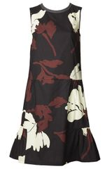 Marni Crisp Floral Dress - Lyst