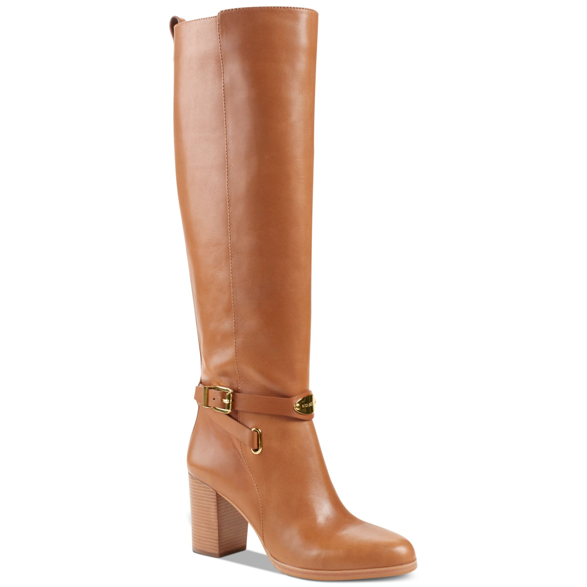 f6cf035ea36 Lyst - Michael Kors Arley Boots in Metallic