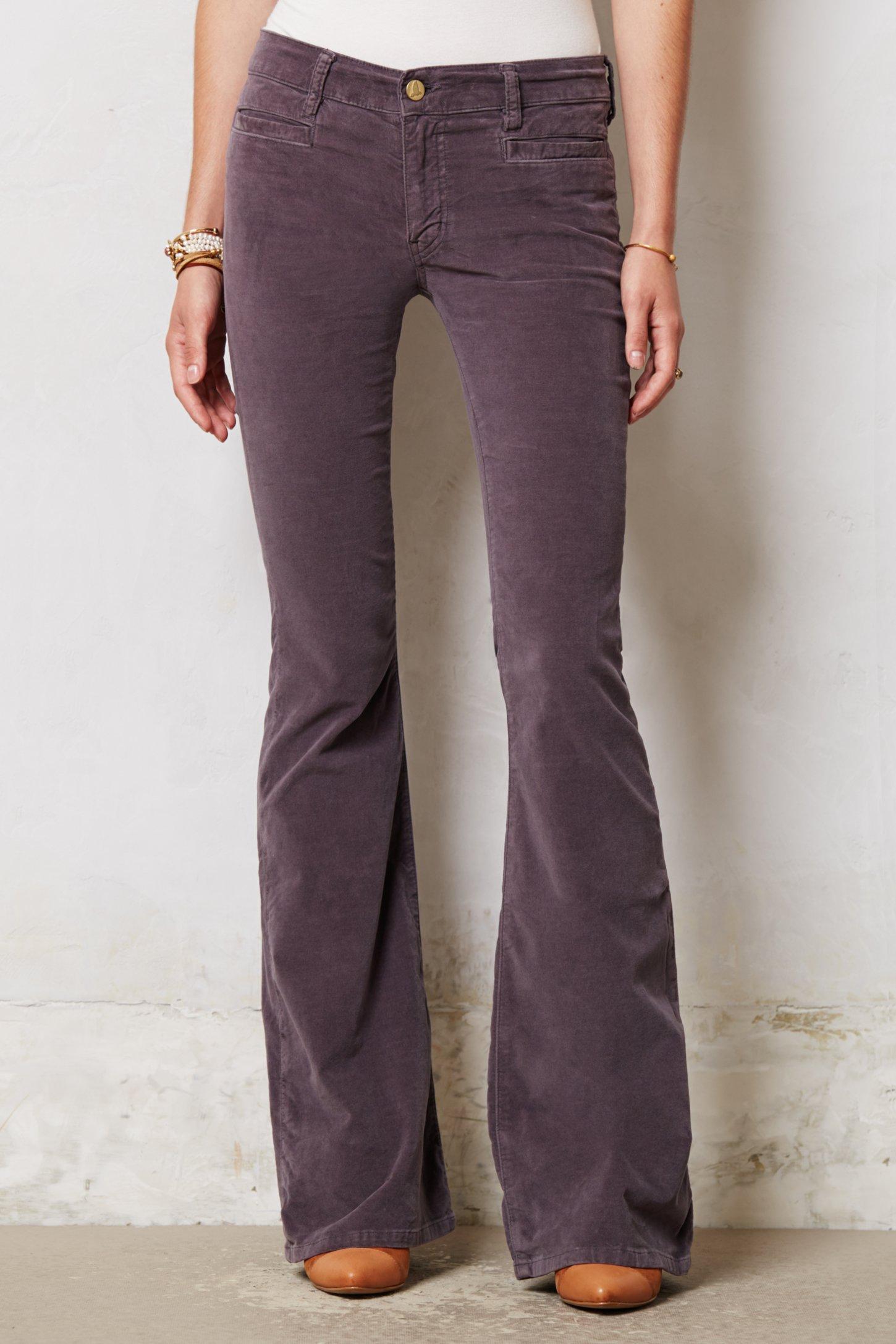 M.i.h jeans Petite Casablanca Flare Jeans in Purple | Lyst