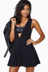 Nasty Gal Deep End Dress - Lyst