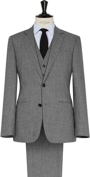 Reiss Steven Three Piece Textured Suit - Lyst