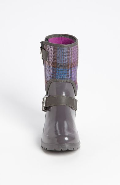 Sperry Top Sider Falcon Rain Boot In Gray Grey Purple