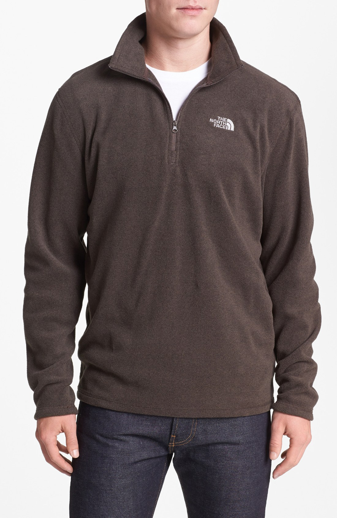 the-north-face-coffee-brown-heather-tka-100-microvelour-glacier-quarter-zip- fleece-pullover-product-1-13868309-178381152.jpeg