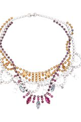 Tom Binns Crystal Tangled Necklace - Lyst