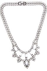 Tom Binns Two Tiered Crystal Necklace - Lyst