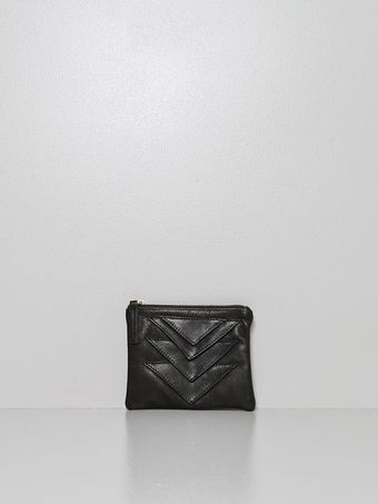Collina Strada Ricco Pouch Leather Black - Lyst