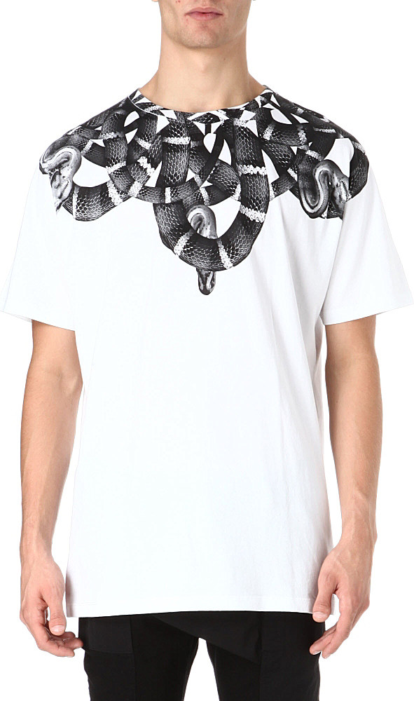 Snakes T-shirt - White Marcelo Burlon Free Shipping Ebay Sale Perfect Cheap Sale Comfortable Wholesale Quality Sale Buy SggYiZ