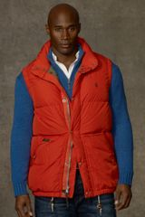 Big & Tall Elmwood Down Vest - Lyst